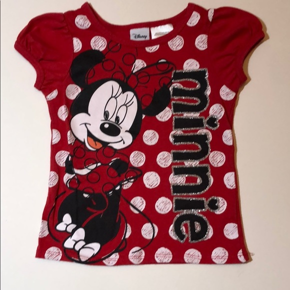 Disney Minnie Mouse T-Shirt Pack of 2Girls Minnie Mouse T-Shirts